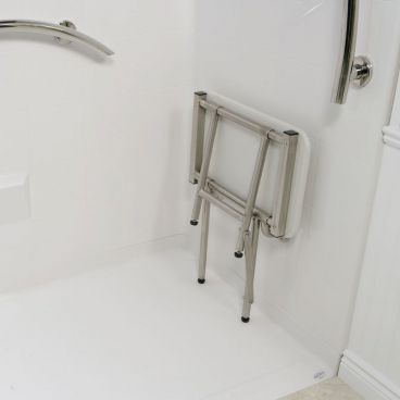 fold up shower seat