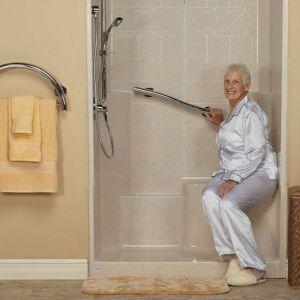 sit down shower