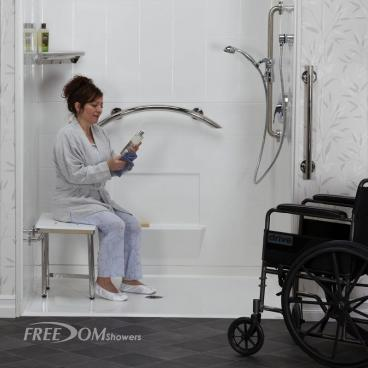 access shower