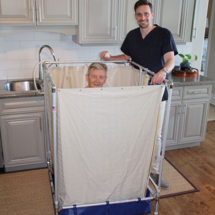 Portable Wheelchair Shower : Handicap showers liteshower portable wheelchair