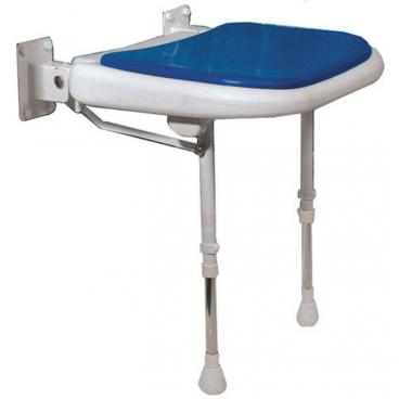 Folding Shower Seat blue pad