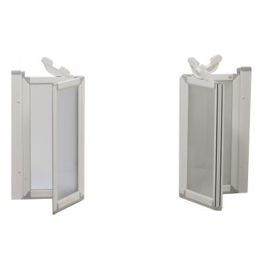 ADA shower doors