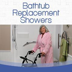 bathtub replacement showers
