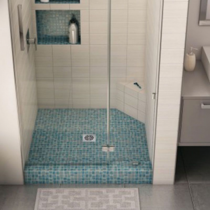 Freedom Tile Over Soap Niche, Single Shelf (16\