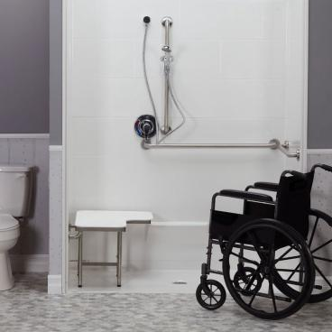 ada compliant shower