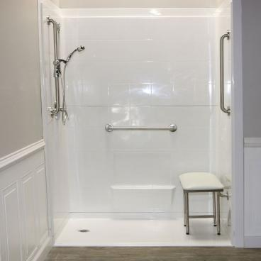 shower for elderly