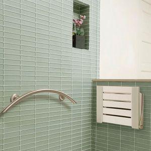 decorator shower seat folded up