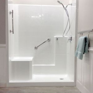 easy step shower