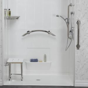 grab bars in the shower