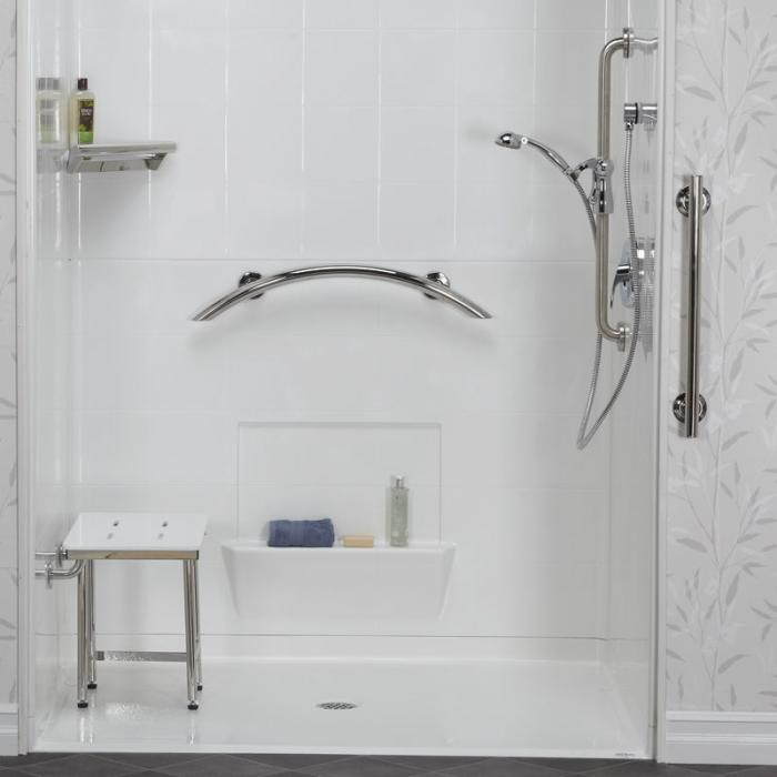 Generous Where To Place Grab Bars In Showers Gallery - Bathtub for ...