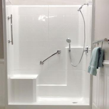 hand shower kit with extra mount