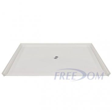 "60"" x 49"" Freedom Accessible Shower Pan"
