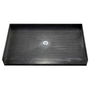 Freedom Tile Over Accessible Shower Pan, center drain