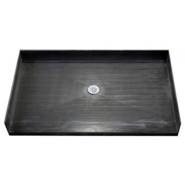 60 x 35 inch Tile Over Accessible Shower Pan Center Drain